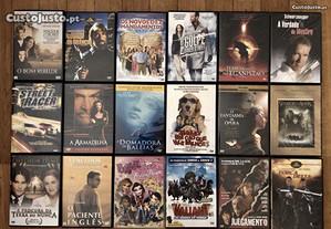 Vários DVD's, em excelente estado.