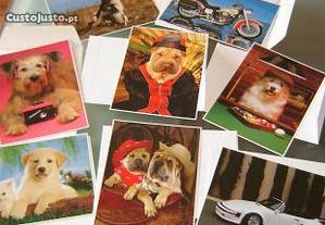 colecção de 8 postais impact 2000 como novos
