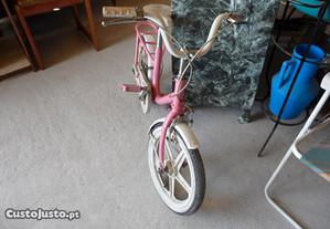 Bicicleta para menina cor de rosa Orbita
