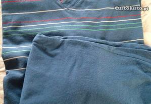 Pijama meia estação, tamanho S.