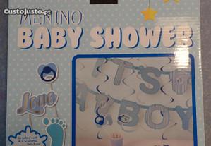 Decoração para Baby Shower Menino Novo (BH)