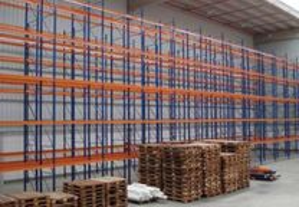 Estante de encaixe metálica carga media / pesada