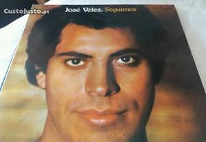 Disco vinil LP José Velez seguimos impecavel