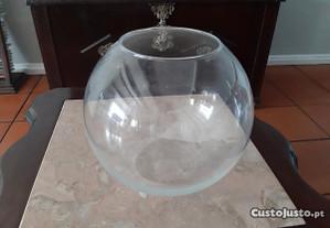 Aquario vidro redondo
