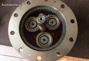 Trator-Redutora de eixo CASE 580 SLE e SM