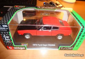 Miniatura Ford Capri 1/32 1970 RS2600 Burago