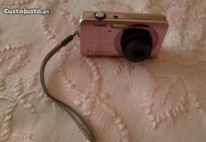 Camara fotografica casio de 12.1 mpx cor de rosa