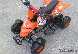Raptor Moto 4 50 cc - Para crianças