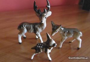 Miniaturas em porcelana