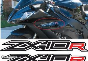 ZX-10R ZX10R autocolantes moto 22 cm