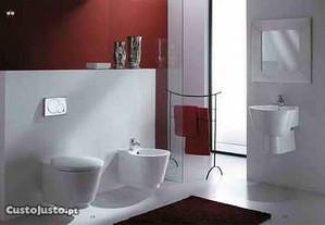 Conjunto de Louças sanitárias novas da marca RAK