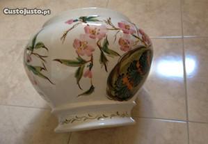 Vaso antigo pintado à mão em cerâmica, para planta