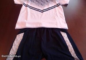 Conjunto calção / camisola