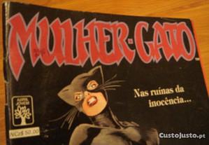 Bd Mulher Gato ano 1989 bom estado