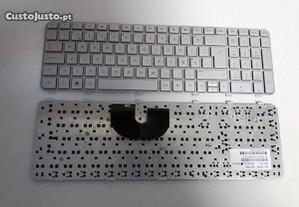 Teclado Novo HP DV6-6000 Silver PT