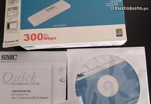 Adaptador wireless SMC 300Mbps