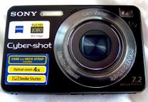 Camara Máquina Compacta SONY CyberShot DSC-W125