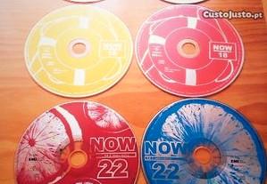 Conjunto 6 cd's - NOW