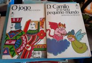 Obras de Carlo Coccioli e Giovanni Guareschi