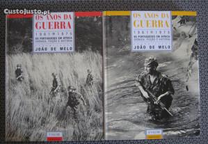 Livros Os Anos da Guerra Volumes I e II.