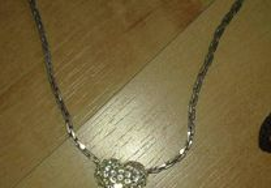 Swarovski ORIGINAL - conjunto colar e brincos
