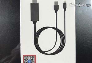 Cabo Adaptador Lightning para HDMI (iPhone/iPad)