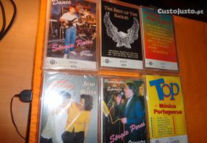 Cassetes 6 ainda Lacradas Oferta Envio Registado