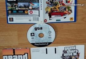 Playstation 2: GTA 3 - Grand Theft Auto
