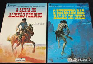 Livros BD Forte Navajo Blueberry Meribérica Liber