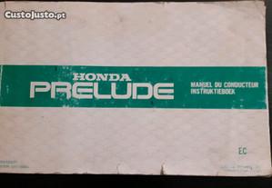 Manual Honda Prelude