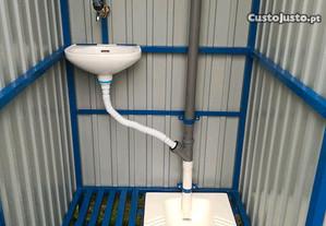 Casa banho p/construção civil