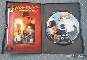 Dvd indiana jones-Material de bónus