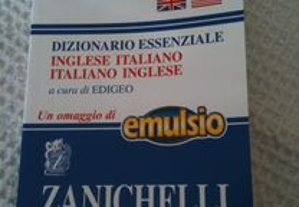 Dicionario de Ingles-Italiano/ Italiano-Ingles