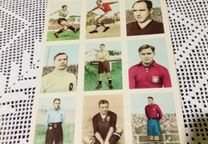 Cromos futebol anos 50