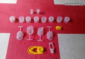 kit tampas para tubos sistema diesel