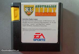 Jogo Mega Drive - Australian Rugby League