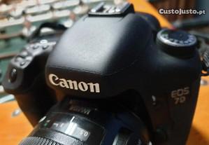 Maquina Canon 7D / Flash 430 / Saco