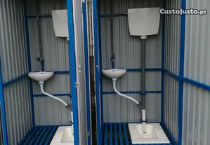 WC para pôr obras construção civil