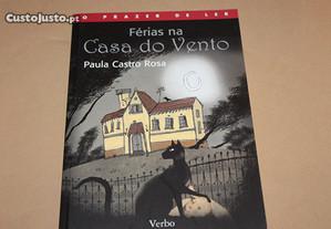 Férias na Casa do Vento de Paula Castro Rosa
