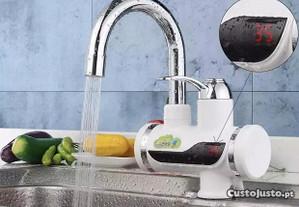 Torneira Elétrica Água Quente sem Esquentador /Gás