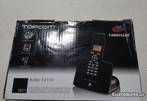 Telefone Portátil sem Fios da marca TOPCOM