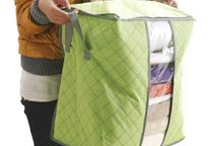 Organizador para roupa, lençóis, cobertores, etc