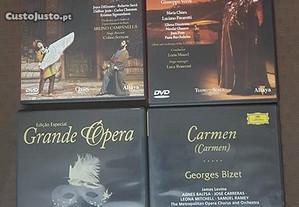 6 DVD musica - Opera / filme musical
