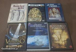 6 DVD Historia