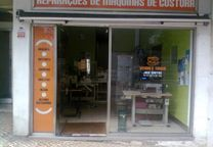 Reparação de maquinas de costura.