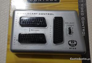 Controlador Video SCART de 2 sentidos Control BT22