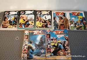 Livros da Colecção Tex - Várias Edições.
