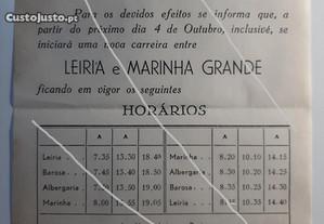 Capristanos carreiras Leiria - Marinha Grande 1954