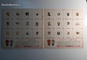 Cartões 5 6 Tintin Sumol