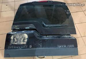 Mala, óculo traseiro para Land Rover Discovery 3